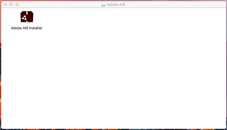 Adobe AIR Installer