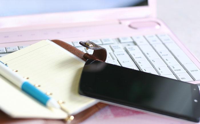 モバイルと手帳