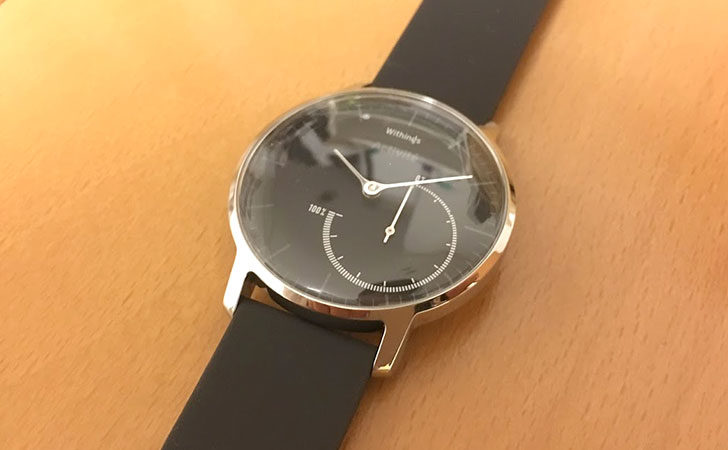 Withings スマートウォッチ Activité Steel